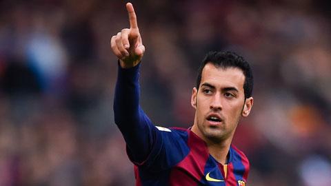 """Barca đạt thỏa thuận """"trói"""" Busquets tới 2020"""