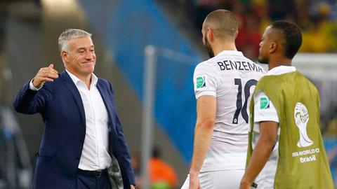 Deschamps gia hạn với ĐT Pháp đến 2018