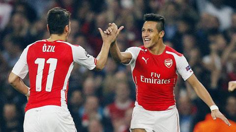 Arsenal lột xác nhờ cách mạng trong chuyển nhượng