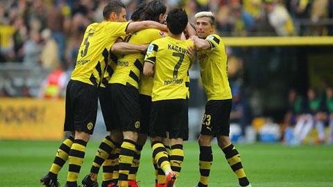 Vòng cuối Bundesliga 2014/15: Dortmund dự Europa League, Stuttgart thoát hiểm