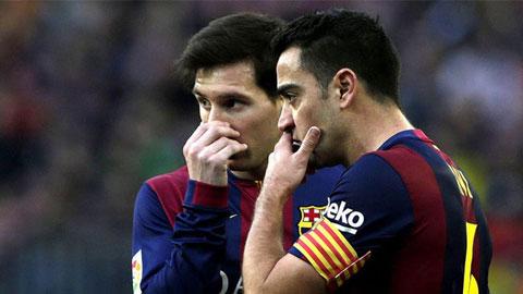 Messi là sự thay thế lý tưởng nhất cho Xavi