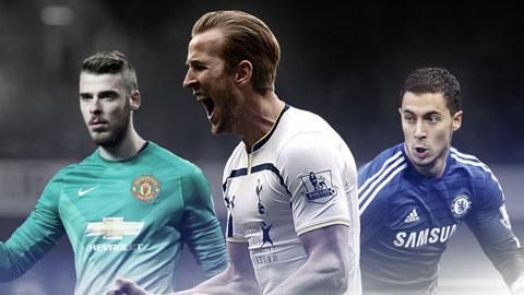 Đội hình xuất sắc nhất Premier League 2014/15