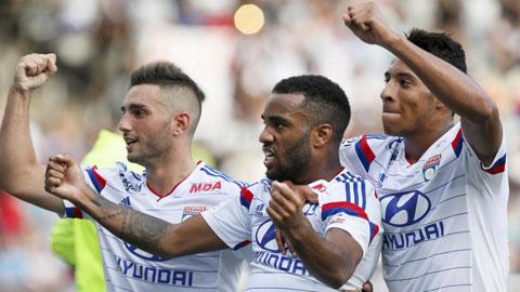 Lyon thăng tiến vượt bậc