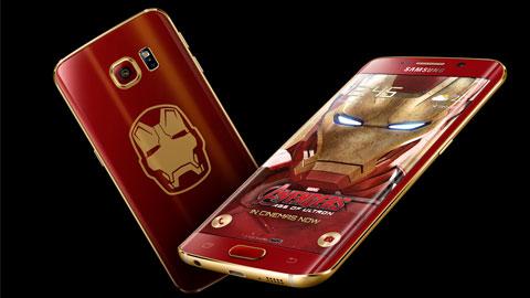 Galaxy S6 edge Iron Man trình làng