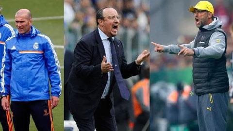 Tuần tới Real công bố HLV mới: Zidane cạnh tranh cùng Benitez và Klopp