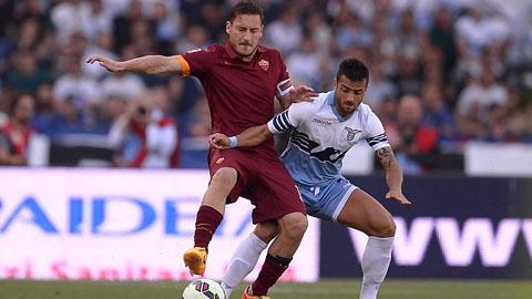 Đánh bại Lazio, Roma bảo vệ thành công ngôi á quân