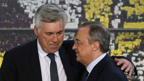 Real: Ancelotti và 8 nạn nhân khác của 'cỗ máy xay HLV' Perez