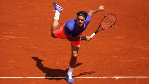 Federer, Nishikori và Sharapova giành vé vào vòng 3 Roland Garros