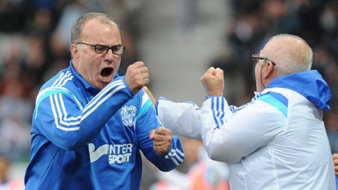 HLV Bielsa sắp gia hạn với Marseille