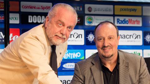 Benitez họp báo chia tay Napoli, đích đến là Real