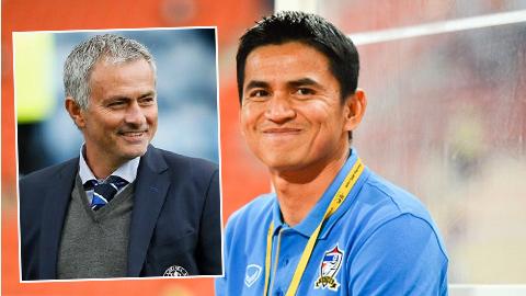 Kiatisak háo hức đối đầu với Jose Mourinho