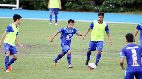 HLV Choketawee Promrut (U23 Thái Lan): 'Chúng tôi sẽ thắng tất cả các đối thủ'