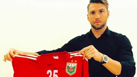 Chê Oseni, B.BD tậu cựu tuyển thủ U21 Croatia
