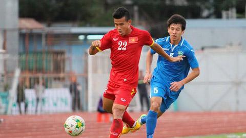 U23 Việt Nam: Thanh Hiền có thể tranh suất đá phạt của Mạnh Hùng và Công Phượng