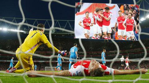 Arsenal mùa 2014/15: Pháo thủ đã chạm ngưỡng