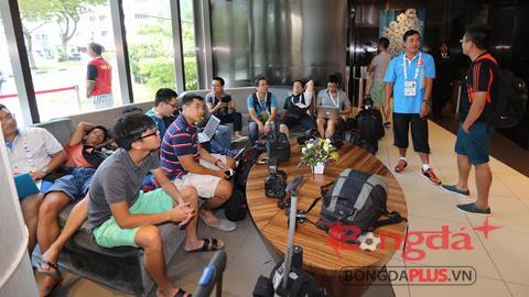 Truyền thông Việt Nam túc trực 24/24 tại Singapore vì SEA Games 28