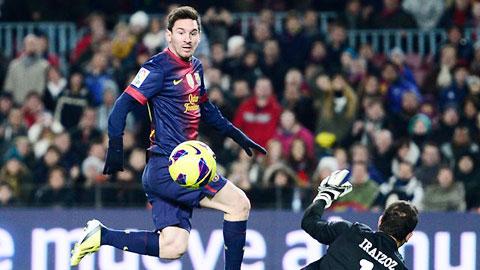 Chung kết Cúp Nhà Vua: Messi luôn đáng sợ ở Nou Camp