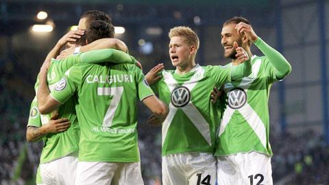 Trước trận chung kết Cúp QG Đức: Sự trỗi dậy của Bầy sói