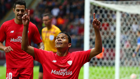 Carlos Bacca: Từ phụ xe tới ngôi sao Europa League