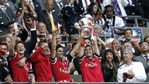 Mới có 5 nhà quán quân bảo vệ thành công chức vô địch cúp FA