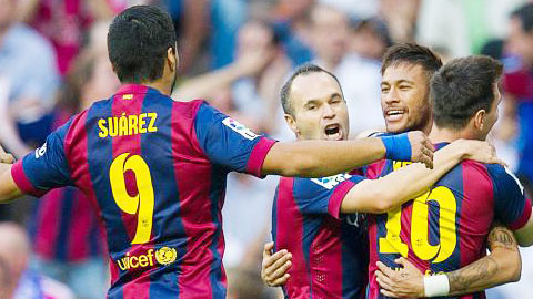 Chung kết Cúp Nhà Vua TBN: Iniesta đặt trọn niềm tin vào M-S-N
