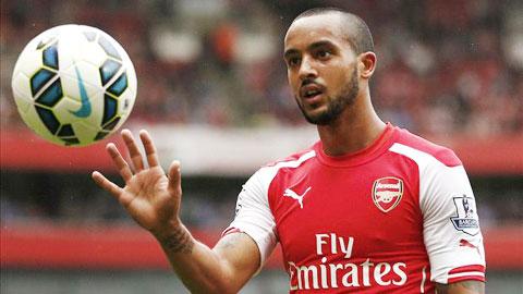 Walcott lên dây cót tinh thần cho Arsenal trước CK FA Cup