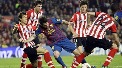 Chờ duyên ghi bàn của Messi ở chung kết Cúp Nhà vua
