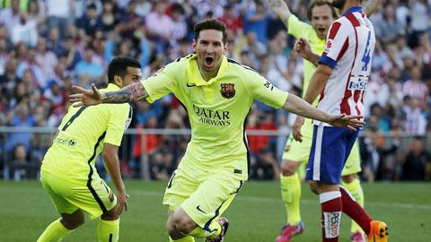 Barca sống nhờ vào sức khỏe của Leo