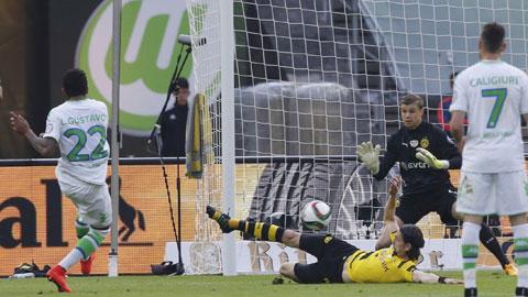 Hạ Dortmund 3-1, Wolfsburg đăng quang tại Cúp QG Đức