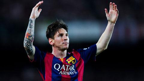 Messi tái hiện lại siêu phẩm của Maradona năm 1986