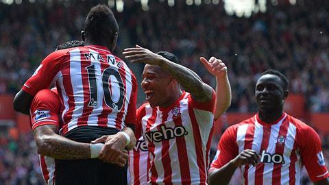 Southampton mở hội sau khi Arsenal vô địch FA Cup