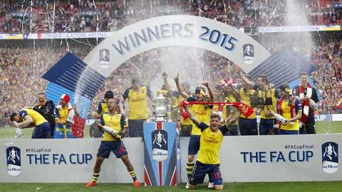 Arsenal đi vào lịch sử