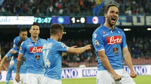 Vòng cuối Serie A: Napoli nhờ cả vào Higuain