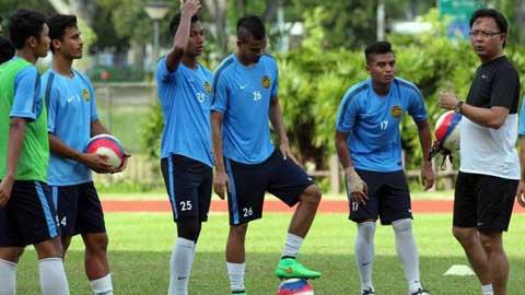 HLV U23 Malaysia quan ngại hỏa lực của U23 Việt Nam