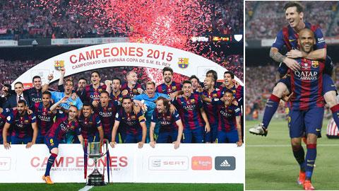 'Ông vua' Lionel Messi