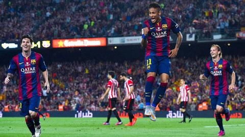 Thể hiện nữa đi, Neymar!