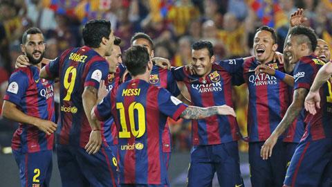 Barca tiến sát mục tiêu giành cú ăn ba: Chỉ còn 1 nấc thang
