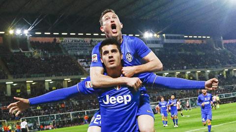 Juve 'trói chặt' Morata đến 2020