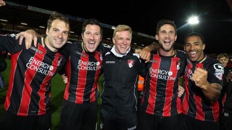 Giới thiệu tân binh Premier League 2015/16: Bournemouth