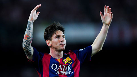 Lionel Messi: Người hùng tháng Năm