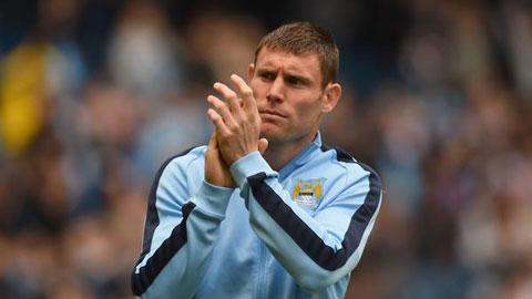 Man City mất trắng James Milner vào tay Liverpool