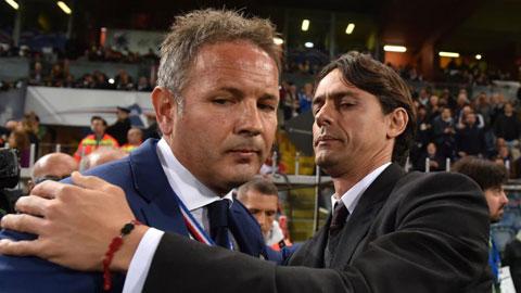 Inzaghi rời Milan, Mihajlovic thế chỗ