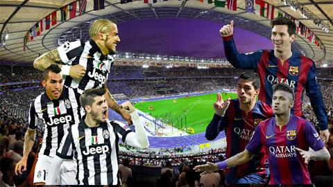 Chấm điểm từng vị trí của Barca và Juventus
