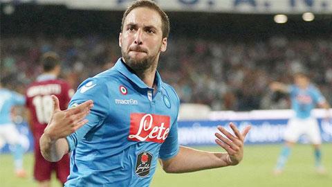 Arsenal và Napoli tiếp tục kì kèo vụ Higuain