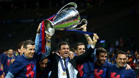 Enrique không hề kém cạnh Guardiola