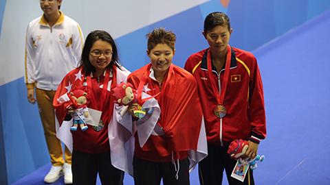 SEA Games: Đánh bại Ánh Viên, Tao Li đã nói gì?
