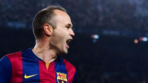 Iniesta – Ông vua trong các trận chung kết World Cup, EURO & Champions League