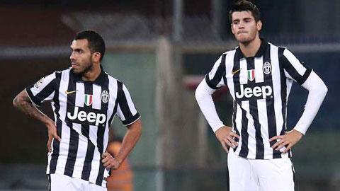 Điểm yếu của Juventus: Hàng công thiếu sức bật