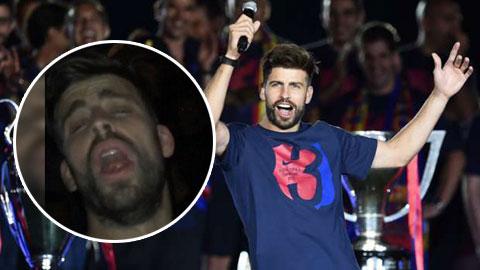 'Đá xoáy' Ronaldo, Pique lại tự bôi xấu mình