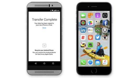 Thật không thể tin nổi, từ Android sang iOS dễ quá!